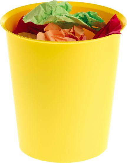 Papeleras de Plástico 2001 Amarillo