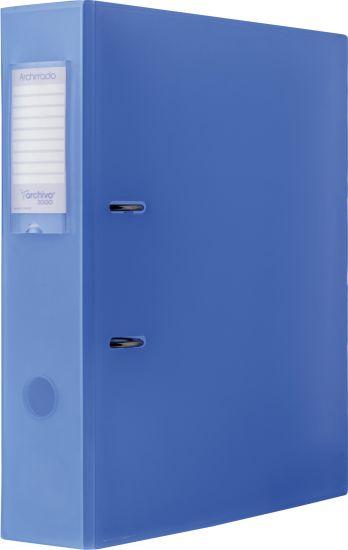 Complementos de Oficina Antimicrobianos 210AM TL Azul Traslúcido