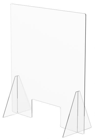 Mamparas de Sobremesa con Ventana 31923M TP Cristal Transparente