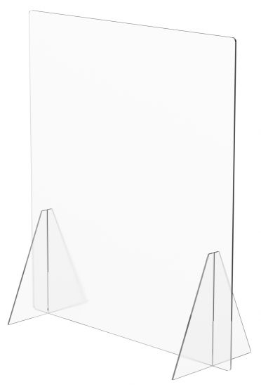 Mamparas de Sobremesa sin Ventana 42323M TP Cristal Transparente
