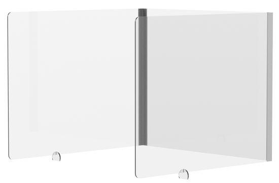 Mamparas Modulares de Oficina 42840M Cristal Transparente