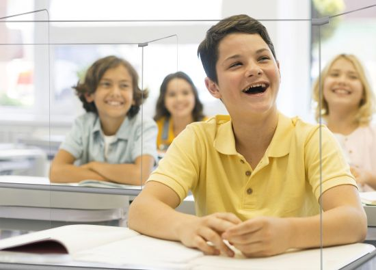 Mamparas para Colegios 43448M TP Cristal Transparente