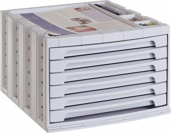ArchivoTec Serie 6000 6006 Gris