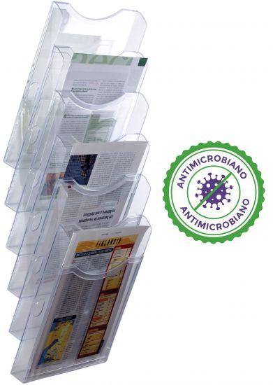Complementos de Oficina Antimicrobianos 6126AM TP Cristal Transparente