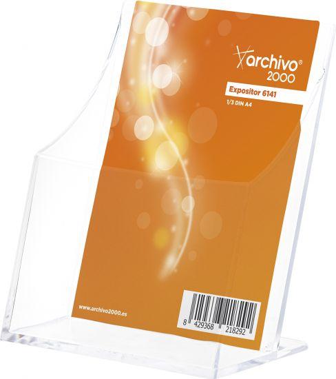 Complementos de Oficina Antimicrobianos 6141AM TP Cristal Transparente