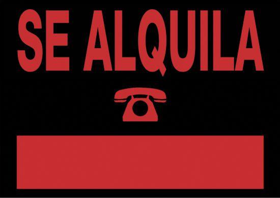 Señalética 6161 Negro
