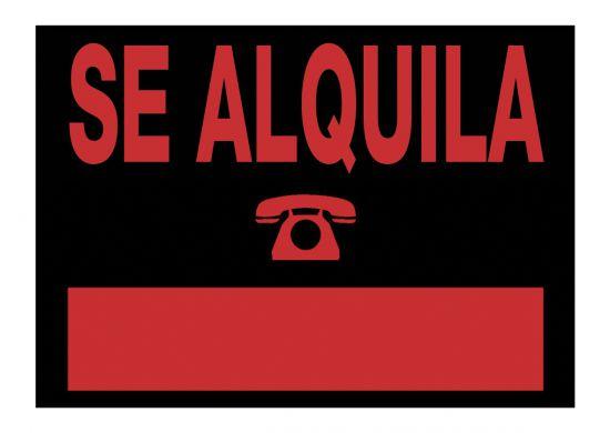 Señalética 6163 Negro