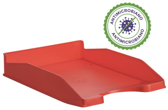 Complementos de Oficina Antimicrobianos 742AM Rojo