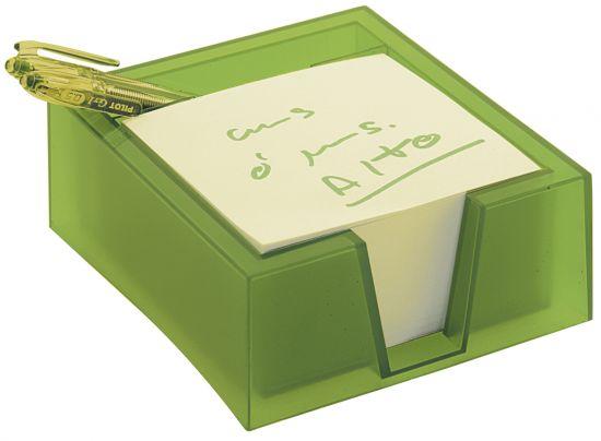 Portanotas 781 TL Verde Kiwi Traslúcido