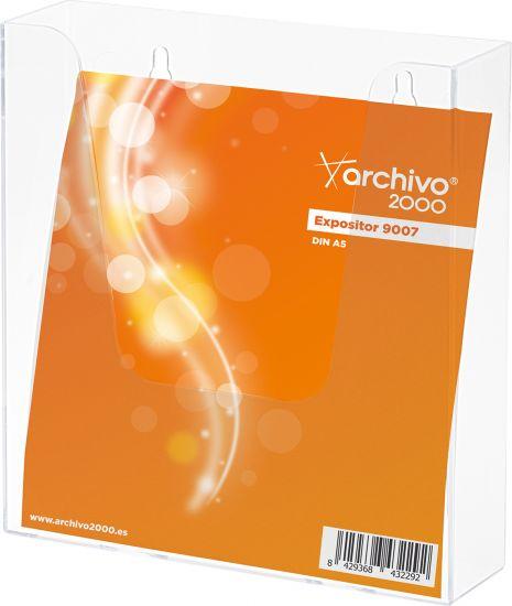 Complementos de Oficina Antimicrobianos 9007AM TP Cristal Transparente