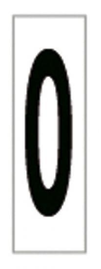 Señales y Carteles 6169-0 Negro-Blanco