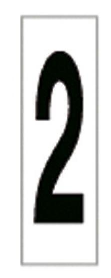 Señales y Carteles 6169-2 Negro-Blanco