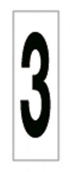 Señales y Carteles 6169-3 Negro-Blanco