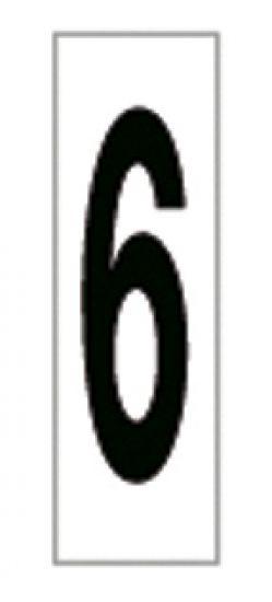 Señales y Carteles 6169-6 Negro-Blanco