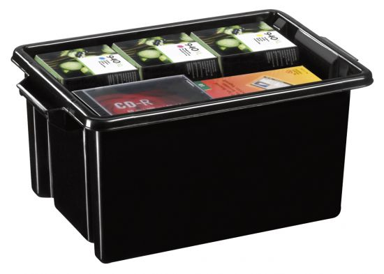 Cajas recicladas CEHW044R Negro