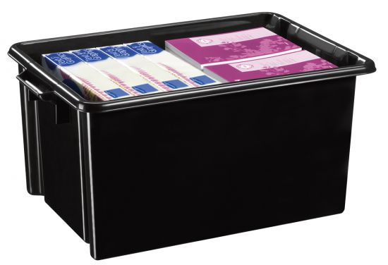 Cajas recicladas CEHW048R Negro