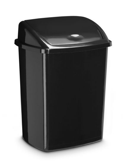 Contenedores de reciclaje CE91947 Negro