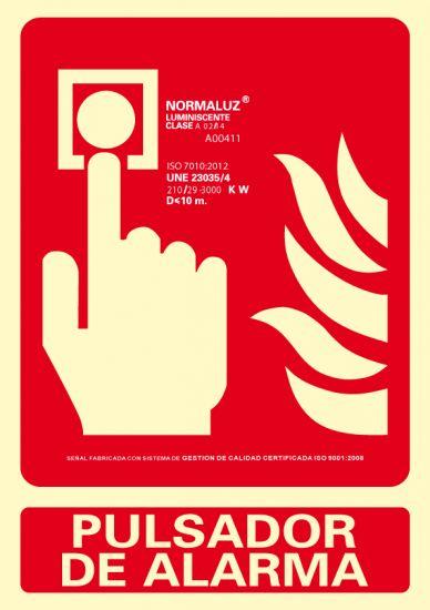 Señalética 6171-04H Rojo
