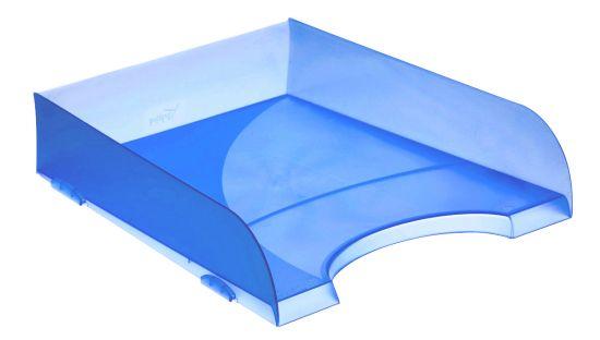 Bandejas Apilables 745 TL Azul Traslúcido