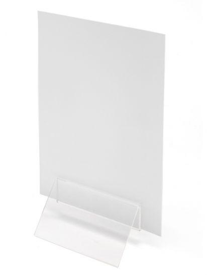 Sujeta Menú DEMC100YT TP Cristal Transparente