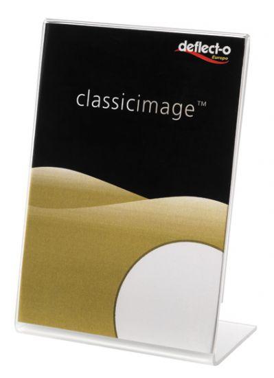 Expositores de Sobremesa en forma de L DE480701 TP Cristal Transparente
