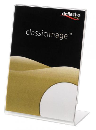 Expositores de Sobremesa en forma de L DE480901 TP Cristal Transparente