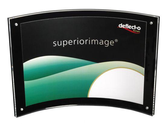 Expositores Curvados DE680475 TP Cristal Transparente