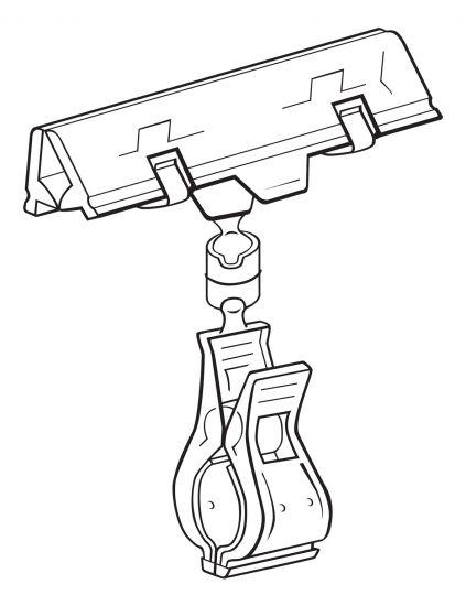 Punto de Venta (señalizadores) DEWYSH10 5X Cristal Transparente