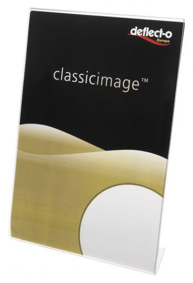 Expositores de Sobremesa en forma de L DE47501 TP Cristal Transparente