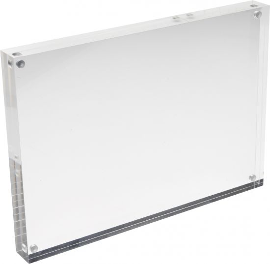Punto de Venta (bloques magnéticos) DEMCHA411-30 TP Cristal Transparente