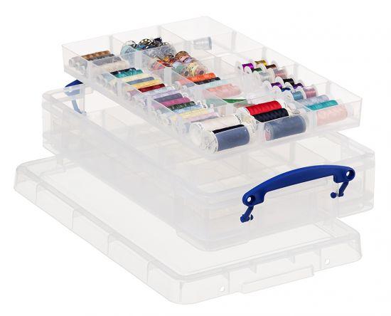 Cajas de Almacenaje RU4-2X15 TP Cristal Transparente