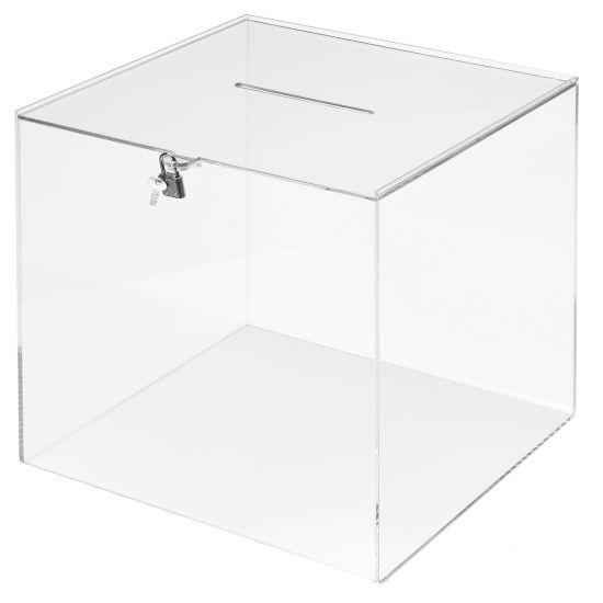 Huchas, Buzones y Urnas DE596903 TP Cristal Transparente