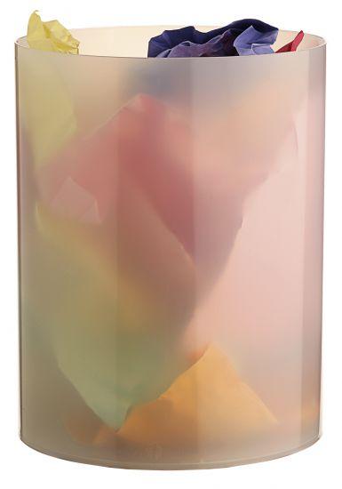 Papeleras de Plástico 2000 TL Cristal Traslúcido