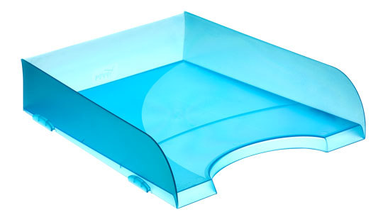 Bandejas Apilables 745 TL Azul Mar Traslúcido
