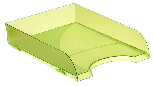 Bandejas Apilables 745 TL Verde Kiwi Traslúcido