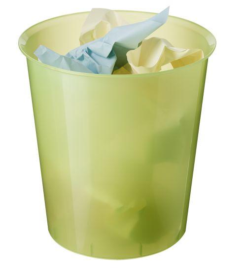 Papeleras de Plástico 2001 TL Verde Kiwi Traslúcido