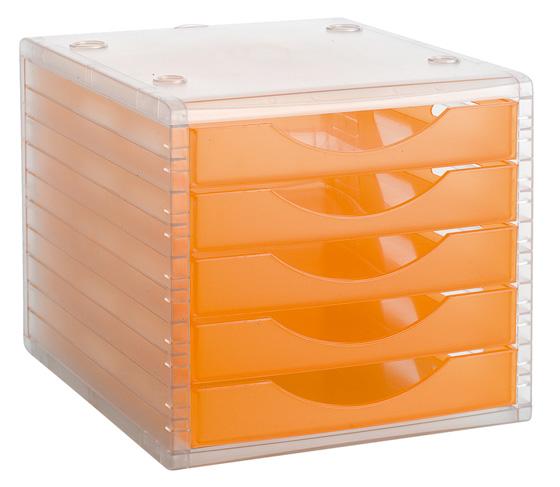ArchivoTec Serie 4000 4005 TL Naranja Traslúcido