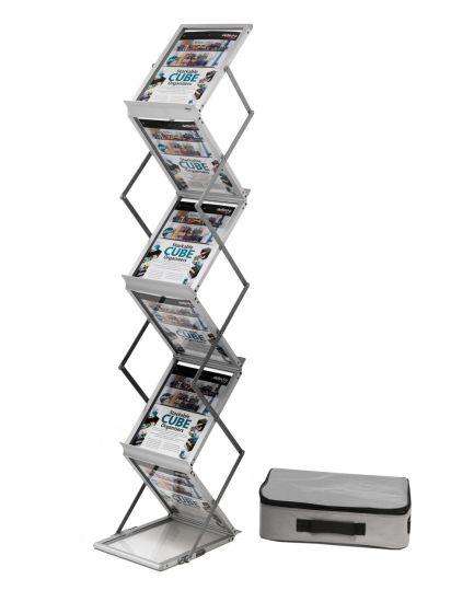 Expositores y Atriles de Pie DE36100 Aluminio
