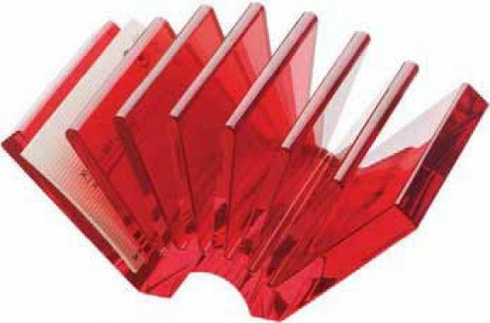 Complementos Guzzini 1013 Rojo Transparente