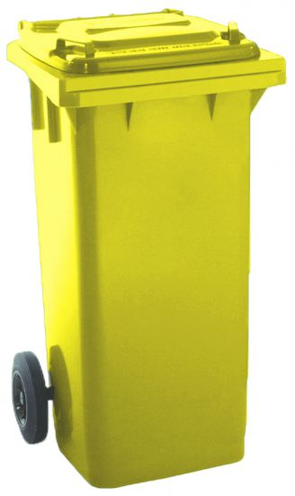 Contenedores de reciclaje DAP06040 Amarillo