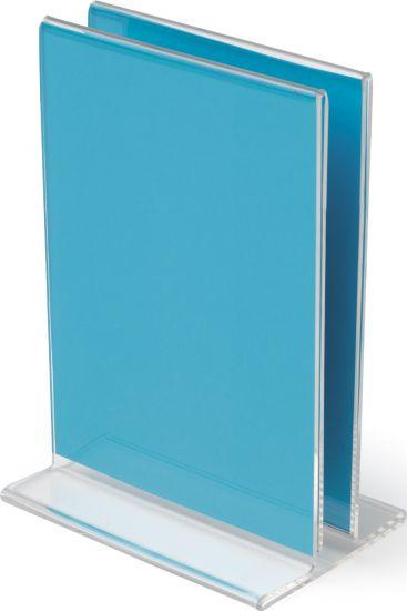 Sujeta Menú y Atril de Sobremesa DEMC150YT TP Cristal Transparente