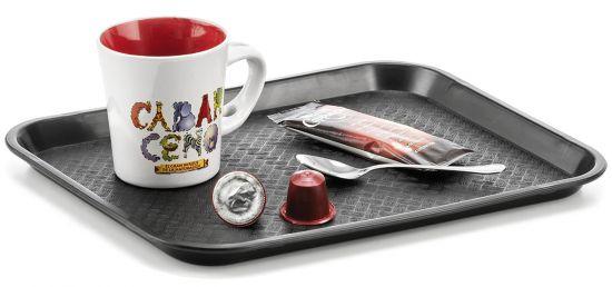 La hora del café PL1045010 Negro
