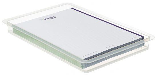 Bandejas para Cajas RUB1-A4TRAYC TP Cristal Transparente