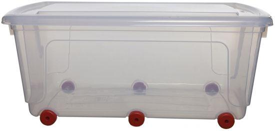 Cajas con ruedas WFS051530 TP Cristal Transparente