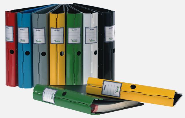 Archivador Ardos disponible en 7 colores