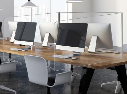Mamparas de Oficina - Puesto Individual