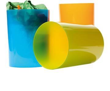 Papeleras de Plástico